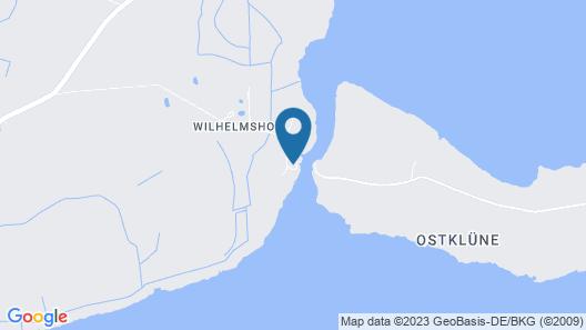Cheerful Apartment in Wilhelmshof Usedom Near Baltic Sea Map