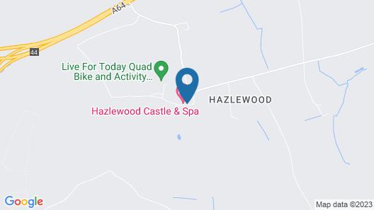Hazlewood Castle & Spa Map