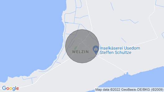 The Special Holiday Home on Usedom Map