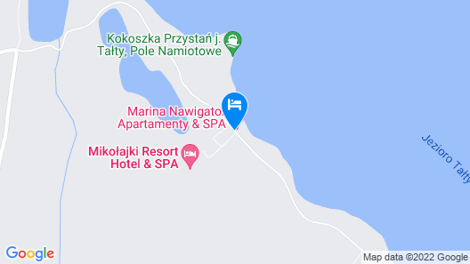 Mikołajki Resort Hotel & Spa Map