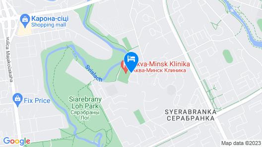 Aqua-Minsk Hotel Plus Map