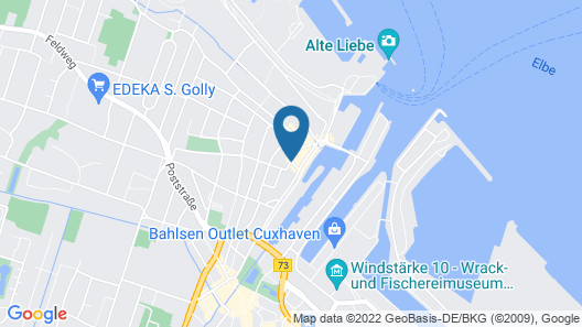 Hotel Stadt Cuxhaven Map
