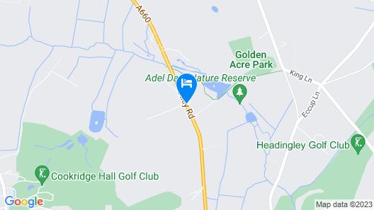 Mercure Leeds Parkway Hotel Map