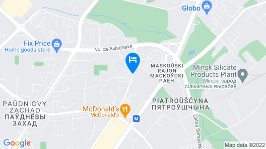 IBB Hotel Map