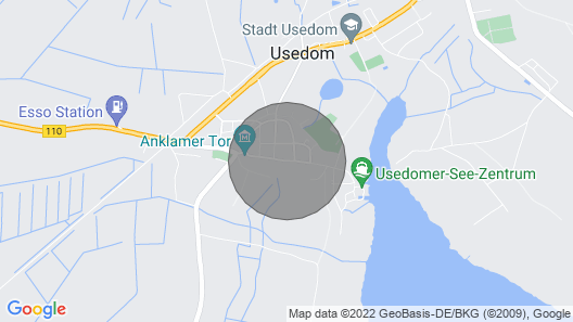 Your Second Home in the Heart of the City of Usedom Map