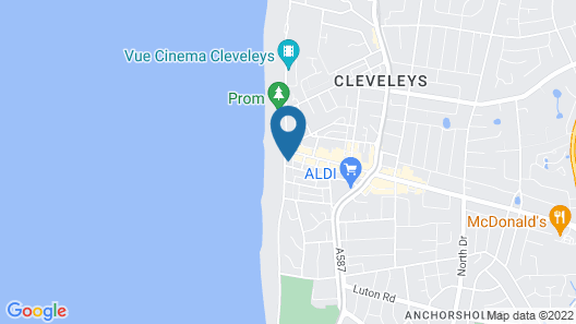 Highcliffe Holiday Apartments Map