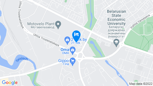 East Time Hotel Map