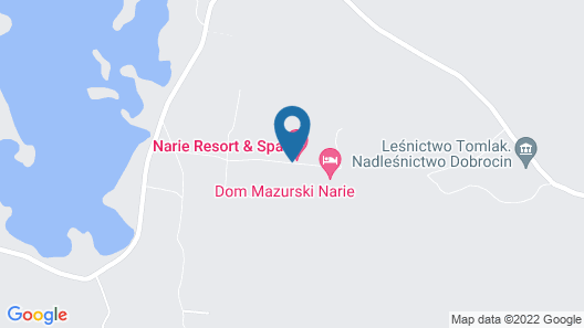 Narie Resort & SPA Map
