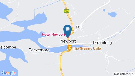 Hotel Newport Map