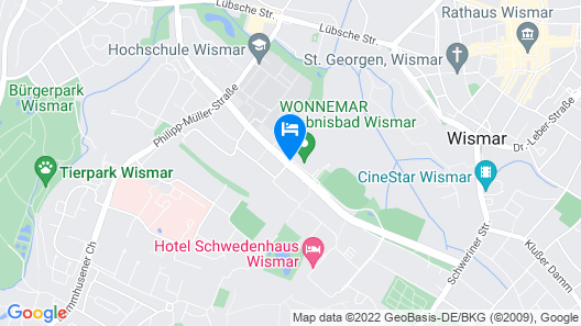 WONNEMAR Resort-Hotel Map