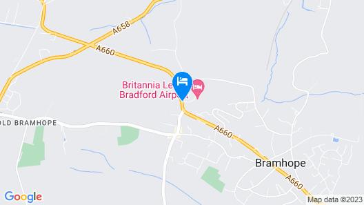 Britannia Leeds Bradford Airport Hotel Map