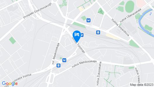 Hampton by Hilton Minsk City Centre Map