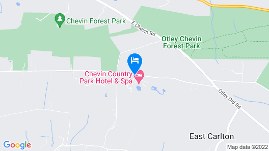Chevin Country Park Hotel & Spa Map