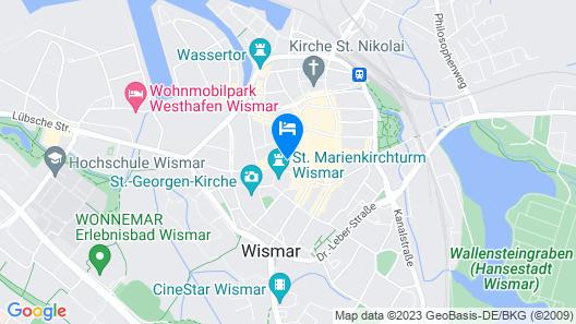Stadthotel Stern Map