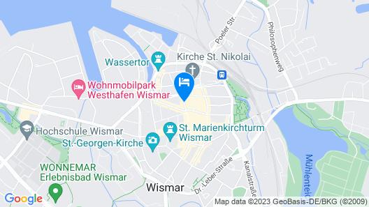 Hotel Alter Speicher Map