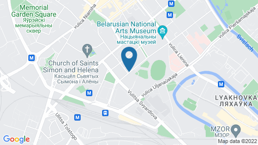 Crowne Plaza Minsk, an IHG Hotel Map