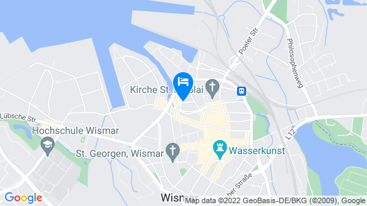 Hotel Denkmal 13 Map