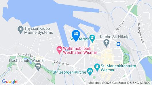 Park Inn By Radisson Wismar Map