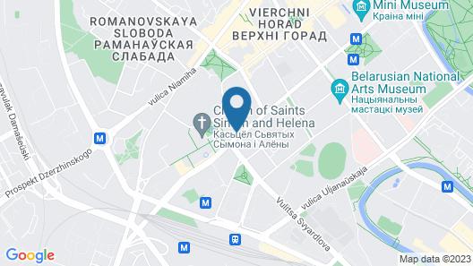 Hotel Minsk Map