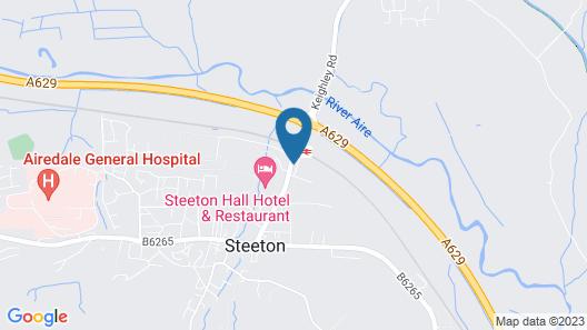 Steeton Hall Hotel Map