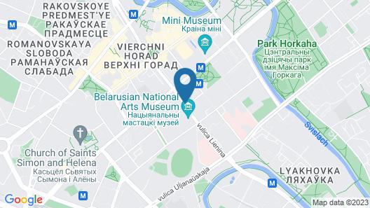Royal apartments Minsk Map