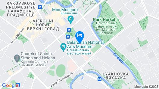 President Hotel Minsk Map