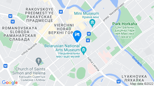 Minsk Apartment 1 Map
