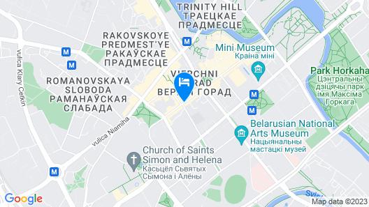 Garni Hotel Map