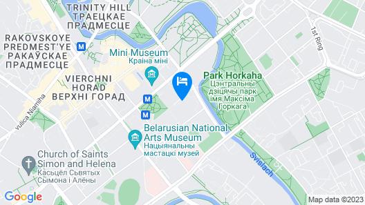 Minsk Apartment 2 Map