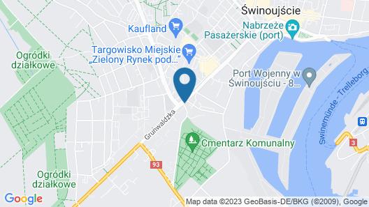 Korda Apartments Map