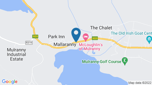 Mulranny House Bed & Breakfast Map