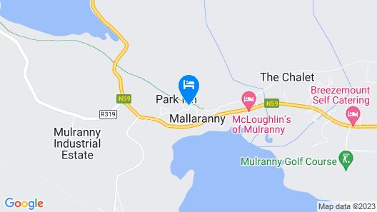 Mulranny Suites Map