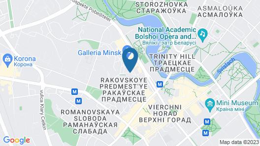 Victoria na Zamkovoy Hotel Map