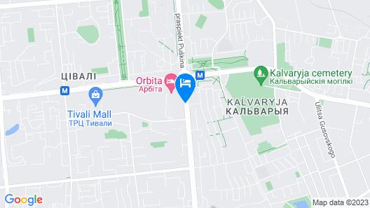 Orbita Hotel Complex Map