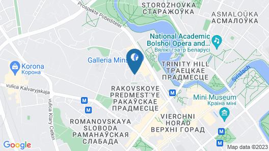 DoubleTree by Hilton Hotel Minsk Map