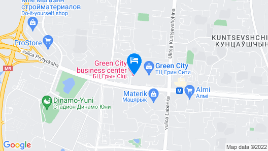 Green City Hotel Map