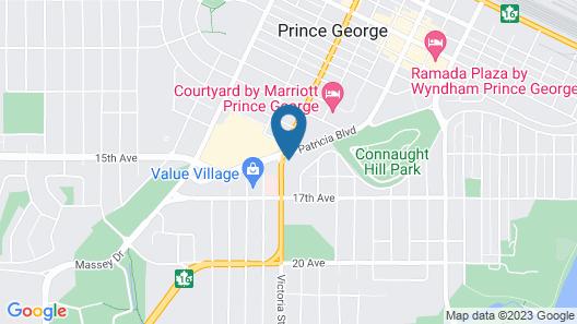 North Star Inn & Suites Map