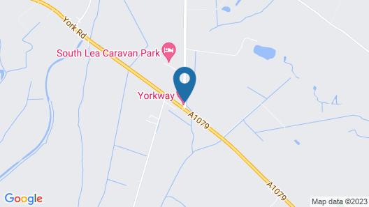 Yorkway Motel Map