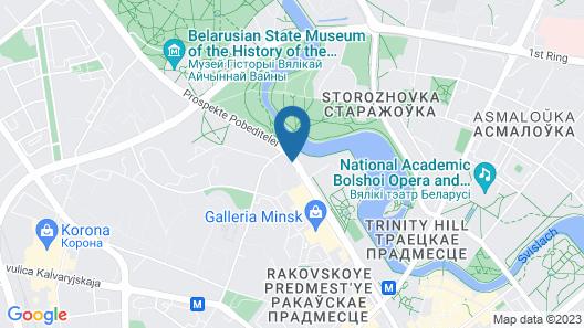 Hotel Yubileiny Map
