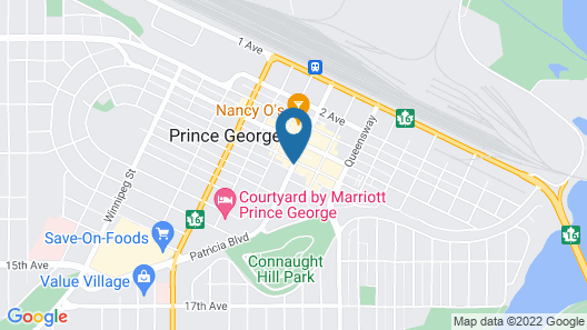 Hyatt Place Prince George Map