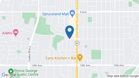 Super 8 by Wyndham Prince George Map