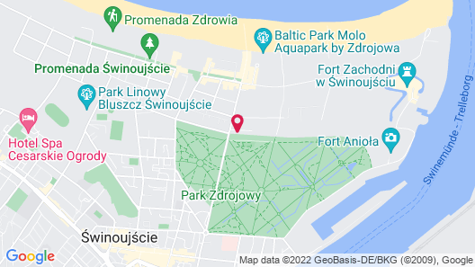 Willa Atena Map