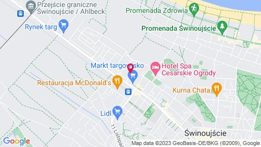 Willa Pod Lipami Map