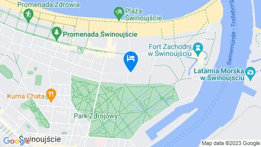 VacationClub - Zdrojowa Apartments Map