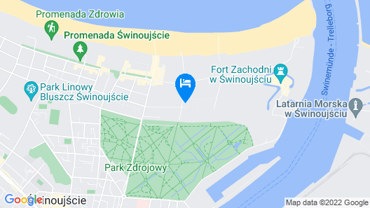 Wyspa Uznam Map