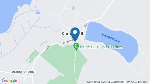 Dorint Resort Baltic Hills Usedom Map