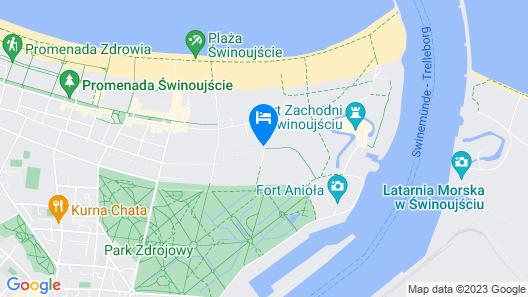 Baltic Home Zdrojowa Map