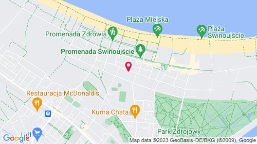 Hotel Lazur Map