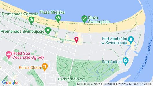 Baltic Park Molo Apartments Map