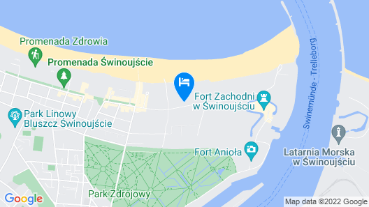 Baltic Park Fort by Zdrojowa Map